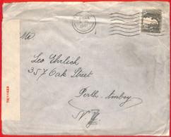 Aa2265 - PALESTINE - POSTAL HISTORY - Censored  COVER To  USA  1941 - Palästina