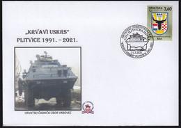 Croatia Plitvicka Jezera 2021 / Krvavi Uskrs / Bloody Easter Plitvice 1991 / Police Armored Vehicle - Police - Gendarmerie