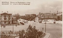BELGRADE  -  Vue Sur La Rue De Karageorge - Serbien