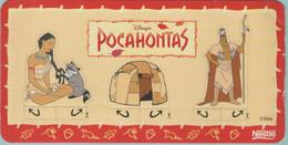 CPM:  DISNEY'S  POCAHONTAS:   Nestlé Disney Family      (G1325) - Unclassified
