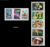 (GUYANA08) Lot Timbres GUYANE GUYANA - Guyane (1966-...)
