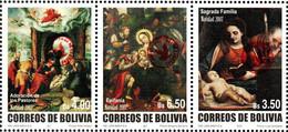 Bolivia 2018 ** CEFIBOL 2364 Christmas 2007 Series Enabled Bolivian Post Office. Serie Navidad 2007 Habilitada Agencia B - Bolivie