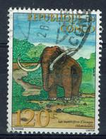 Congo (Brazzaville), 120f, Mammouth, 1998, Obl, TB - Oblitérés