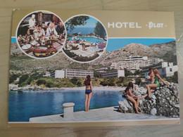 Yougoslavie Croatie Dubrovnik Hotel Plat 1970's - Yugoslavia