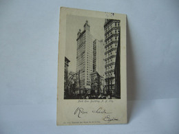 PARK ROW BUILDING N Y CITY NY NEW YORK CITY ETATS UNIS CPA 1908 NO 101 NATIONAL ART VIEWS CO N Y CITY - Non Classificati