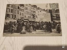 Ancienne Carte Postale - Marseille - Debarquement D'oranges - Ohne Zuordnung