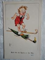 CPSM Illustrateur MICH - Bob Fait Du Port - Le Sky - N° 7064 - Mich