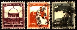 Palestina 1927 Mi 55_62 Definitive Issue ''Pictorials'' 1927-1945 - Palästina