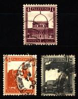 Palestine - British Mandate 1927-32 Mi 55-56, 62 Definitive Issue - Palestine