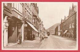 PORT TALBOT - Station Road  *Ed. Valentine & Sons -W4005 .*Scan Recto-Verso - Glamorgan