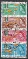 Vierges N° 177/80 YVERT OBLITERE - British Virgin Islands
