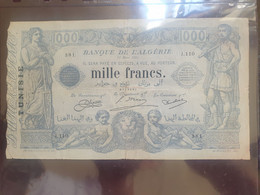 Mille Frans 1924 - Tunisia