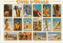 Pin Up-femmes Nues -seins Nus-cote D'opale -cpm - Pin-Ups