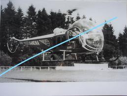 Photox3 SABENA Hélicoptère Helicopter Bell 47 D1 Westland Sikorski S51 Circa 1950-60 Aviation Aircraft Airplane - Aviazione