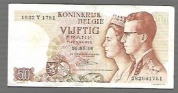 Belgique - 50 Francs