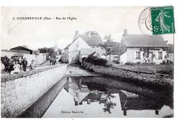 GONDREVILLE (Oise) -  Rue De L'Eglise - Altri Comuni