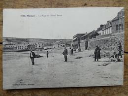 CPA (29) Finistère - MORGAT - La Plage Et L'Hôtel Hervé - Morgat