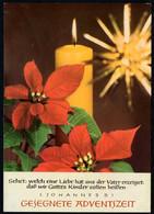 F1115 - Glückwunschkarte Weihnachten Advent - DDR Max Müller Karl Marx Stadt - Non Classés