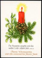 D2416 - TOP Glückwunschkarte Weihnachten Advent - DDR Verlag Schäfer - Non Classés