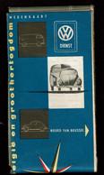 Carte Routière - Belgique & Luxembourg. - VW Service - Volkswagen Coccinelle & Combi - Anciens Ets Dieteren - Roadmaps