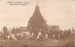 Mont St Saint Vincent Bûcher Des Feux Celtiques - Otros Municipios