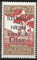 1949 Wallis Et Futuna Tres Petite Trace De Charniere Mlh * 50 Euros - Unused Stamps