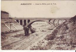 Cpa Marignane  Canal Du Rhone - Marignane