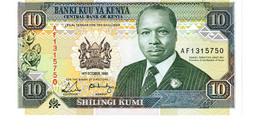 Kenya P.24 10 Shillings 1989 Unc - Kenya