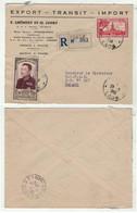 Laos // Royaume Du Laos // Lettre Recommandée De Pakse Pour Saigon 27/3/1953 - Storia Postale
