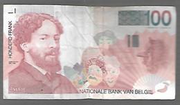 Belgique - 100 Francs