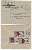 Laos // Royaume Du Laos // Lettre De Savannakhet Pour Saigon 29/06/1953 - Laos