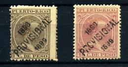 Puerto Rico Nº 170 Y 172.  Año 1898 - Puerto Rico