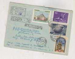 RUSSIA USSR 1957 KHARKOV Nice Registered Cover To Yugoslavia - Cartas
