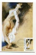Maximumkaart Carte Maximum Nude Nu  Delacroix - Nus
