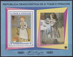 Michel - 716A - Postfrisch/**/MNH - Pablo Picasso - Sao Tome Et Principe