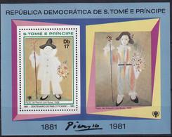 Michel - 717A - Postfrisch/**/MNH - Pablo Picasso - Sao Tome Et Principe