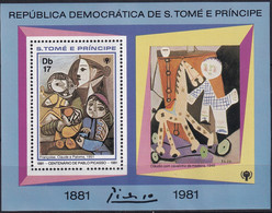 Michel - 718A - Postfrisch/**/MNH - Pablo Picasso - Sao Tome Et Principe