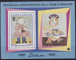 Michel - 719A - Postfrisch/**/MNH - Pablo Picasso - Sao Tome Et Principe