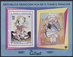 Michel - 720A - Postfrisch/**/MNH - Pablo Picasso - Sao Tome Et Principe