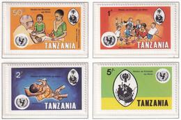 Michel - 123-126 - Postfrisch/**/MNH - Tanzania (1964-...)