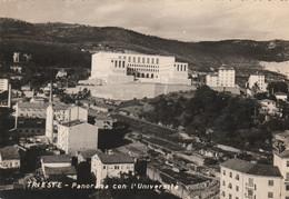TRIESTE - PANORAMA CON L'UNIVERSITA' - Trieste