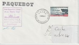 13772 MS NELLA DAN - CASEY - ANTARTICA - Lettres & Documents