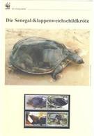 Togo 2006 - WWF Die Senegal-Klappenweichschildkröte - Komplettes Kapitel Postfrisch MK FDC - Unclassified