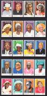 2016 Barbados Centenarians  Complete Set Of 20 MNH - Barbados (1966-...)