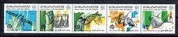 1986 - Libya - The 24th International Trade Fair, Tripoli - Musical Instruments - Strip Of 5 Stamps - MNH** - Libya