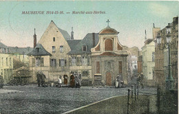 MAUBEUGE MARCHE AUX HERBES - Maubeuge