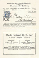"""NN Karte  """"Luzerner Tagblatt, Luzern"""" - Schlierbach          1905 - Covers & Documents"""