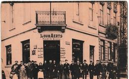 """""""Au Coq Corné"""" - Louis Aerts - Marché De Bières - Coin Rue Josaphat Et 79, Avenue Rogier (Schaerbeek) - Pubs, Hotels, Restaurants"""