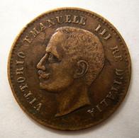 2 CENTESIMI 1906 ~ VITTORIO EMANUELE III - 1900-1946 : Victor Emmanuel III & Umberto II