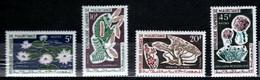 Mauritania 1965 Mi 242-245 Tropical Plants - MNH - Mauritania (1960-...)
